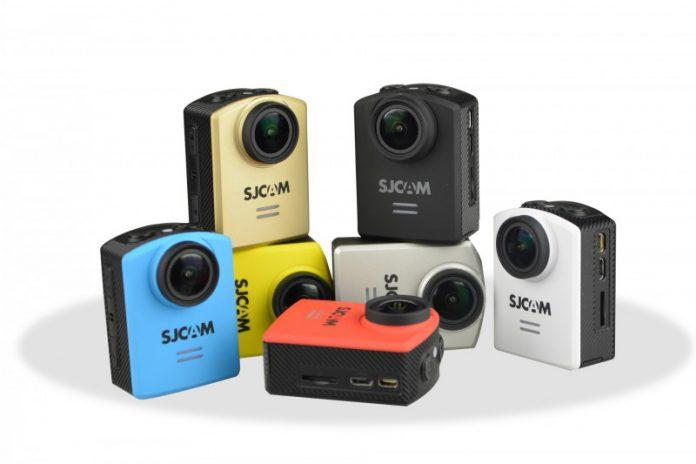 La caméra d'action SJCAM M20 existe sous plusieurs variantes de couleurs
