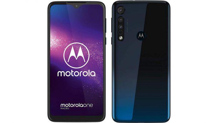 Motorola One Macro 64 Go